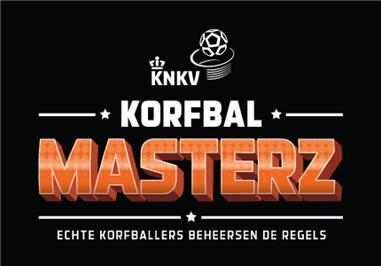 Uitnodiging voor Korfbalmasterz spelregelbewijs C en B