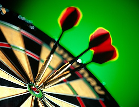 1 maart: Let's play darts
