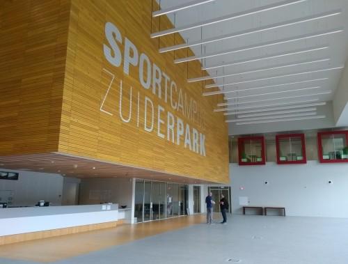 Reminder: houd 'onze' Sportcampus netjes!