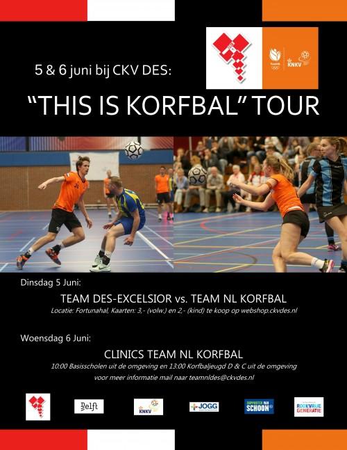 'This is korfbal tour'