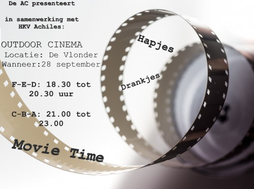 28 september: Outdoor Cinema