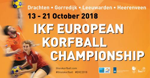13-21 oktober EK Korfbal: ticketverkoop en vrijwilligers
