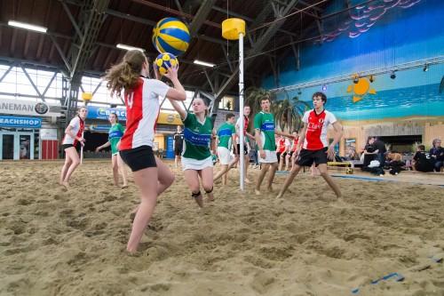 3 november: Beachkorfbal voor E t/m C met vriendjes & vriendinnetjes