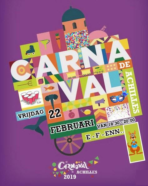 Carnavalsparadijs op vrijdag 22 februari