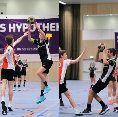 Mick van Nieuwenhuijzen & Noa Brusse op NK 1 tegen 1