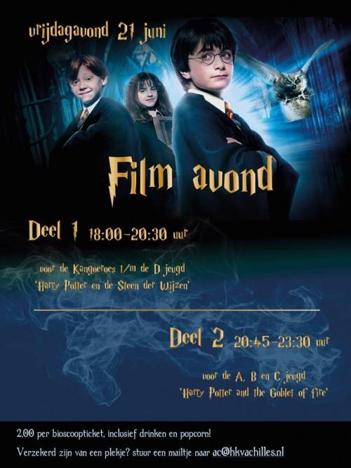 Vrijdag 21 juni: AC Filmavond!
