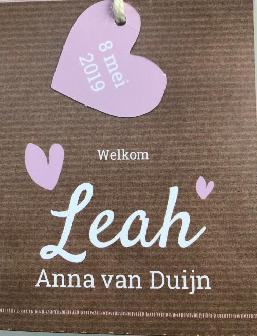 Leah geboren!