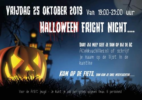 25 oktober: AC Halloween Horrortocht