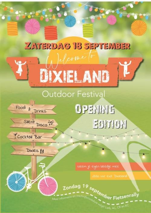 18 september: Welcome to Dixieland [Update: vanaf 17:00 uur Coronacheck-app!]